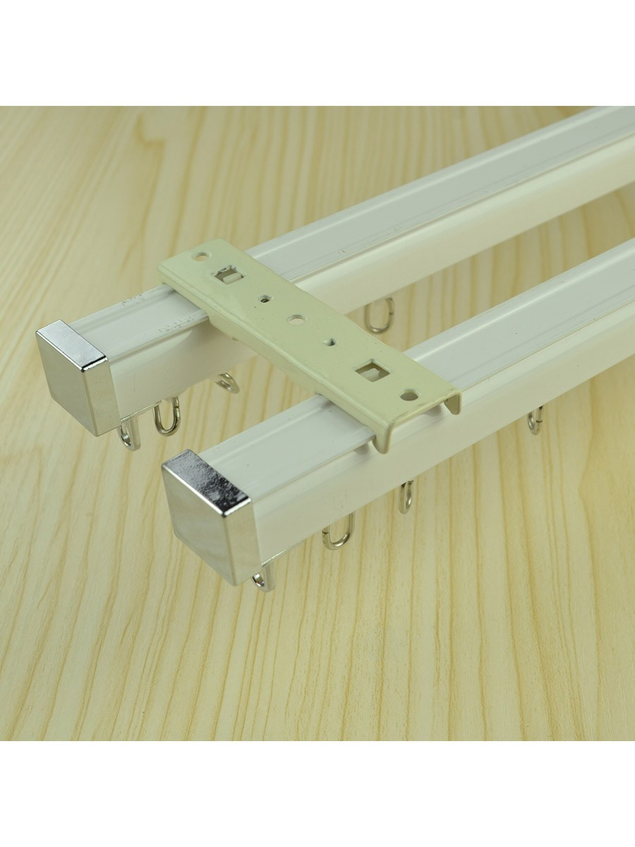 Chr7722 Ceiling Mounted Or Wall Mounted Double Curtain