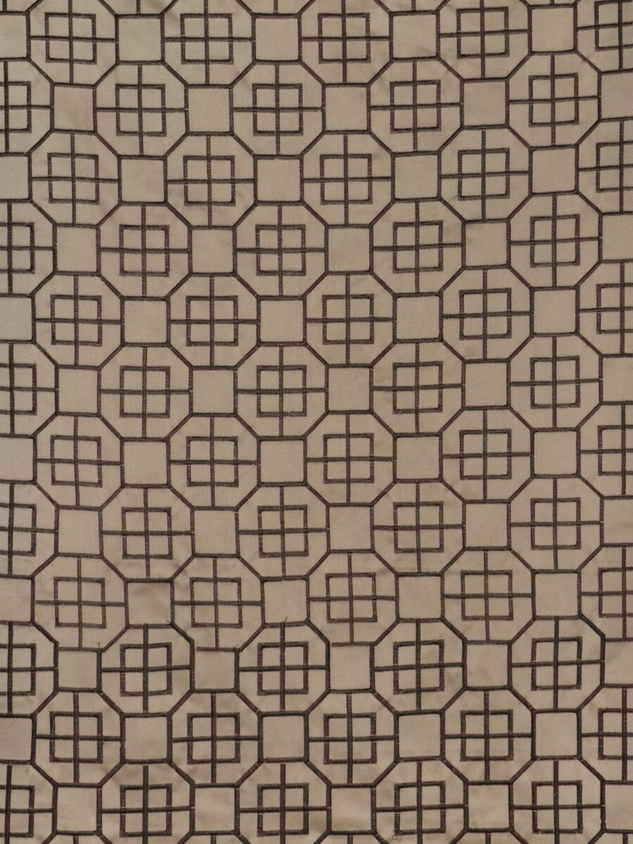 Grommet curtains pattern grommet curtain single - Silver Beach Embroidered Chinese Inspired Faux Silk Custom