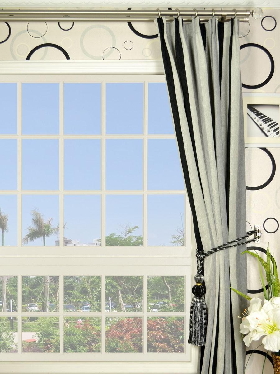 petrel vertical stripe versatile pleat chenille curtains