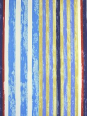 Alamere Nautical-color Striped Cotton Fabrics Per Yard