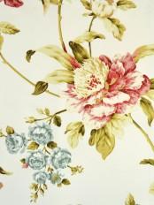 Alamere Branch Floral Printed Fabrics Per Yard
