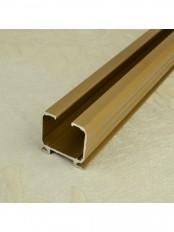 QYR6620 Aluminum Alloy Single Curtain Track Set