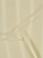 QY7151SI Laura Snow Striped Custom Made Sheer Curtains (Color: Alabaster Gleam)
