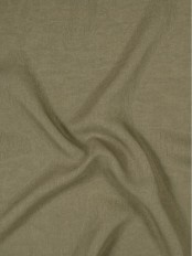 QY7151SM Laura Rough Solid Custom Made Sheer Curtains (Color: Kangaroo)