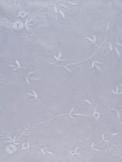 Elbert Branch Leaves Pattern Embroidered Versatile Pleat Sheer Curtains