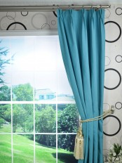 Extra Long Hudson Solid Blackout Double Pinch Pleat Curtains