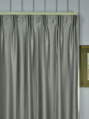 Extra Wide Swan 3D Embossed Medium-scale Floral Versatile Pleat Curtains