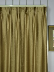 Extra Wide Swan 3D Embossed Floral Damask Versatile Pleat Curtains