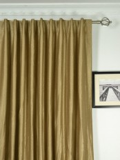 Extra Wide Swan 3D Embossed Floral Damask Back Tab Curtains