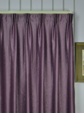 Extra Wide Swan 3D Embossed Europe Floral Versatile Pleat Curtains
