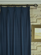 Extra Wide Hudson Cotton Blend Solid Versatile Pleat Curtains