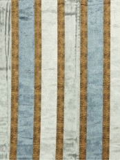 Maia Luxurious Stripe Velvet Custom Made Curtains