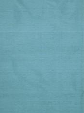 Oasis Solid Blue Dupioni Silk Fabrics