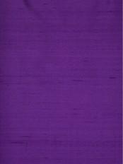 Oasis Solid Purple Dupioni Silk Custom Made Curtains