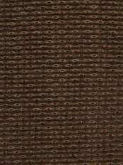 Coral Spots Yarn-dyed Chenille Custom Made Curtains (Color: Brown)