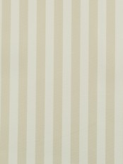 Modern Narrow Striped Blackout Cotton Blend Custom Made Curtains (Color: Blanched Almond)