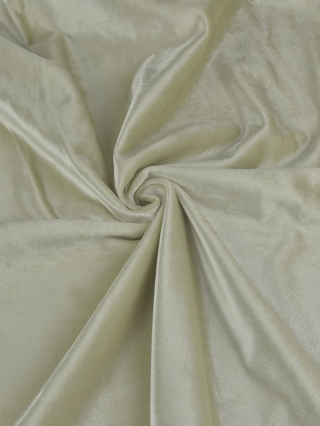 63 Inch 96 Inch Whitney Beige and Yellow Solid Blackout Grommet Velvet Curtains (Color: Beige)