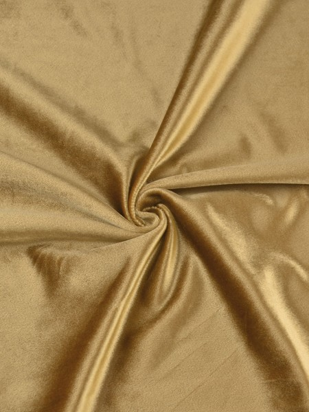 Whitney Brown Solid Blackout Grommet Velvet Curtains 63 Inch 96 Inch Curtains | CheeryCurtains (Color: Deep Saffron)