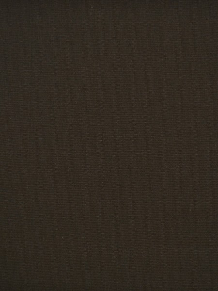 Moonbay Plain Back Tab Cotton Curtains (Color: Ebony)