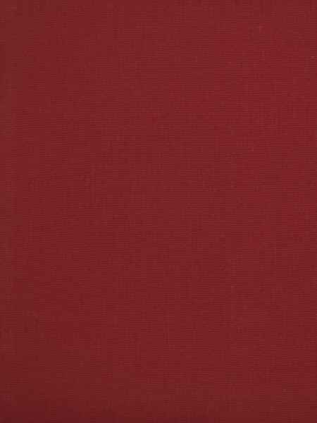 Moonbay Plain Back Tab Cotton Curtains (Color: Cardinal)