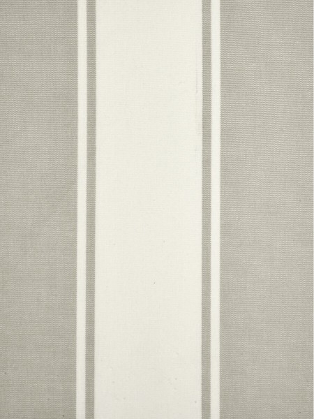 Moonbay Stripe Back Tab Cotton Curtains (Color: Sand)