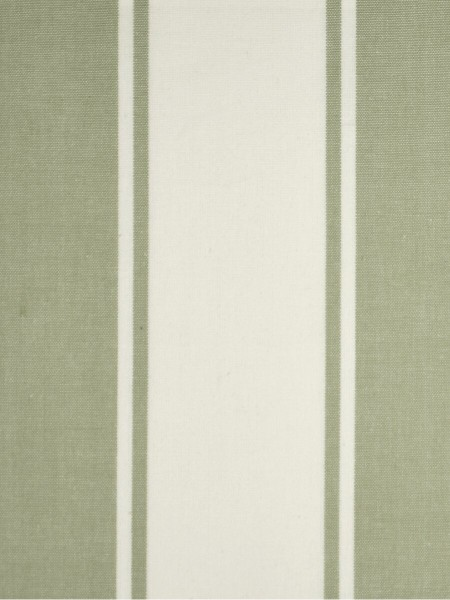 Moonbay Stripe Back Tab Cotton Curtains (Color: Medium spring bud)