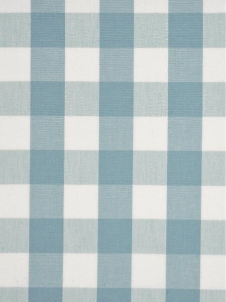 Moonbay Small Plaids Double Pinch Pleat Curtains (Color: Powder blue)