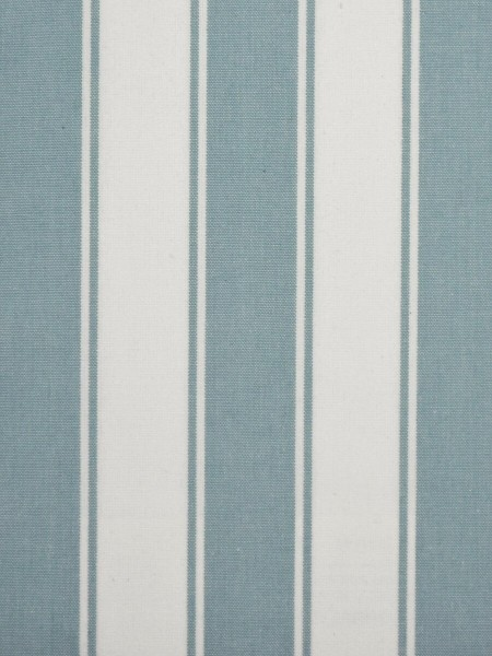 Moonbay Narrow-stripe Back Tab Curtains (Color: Powder blue)