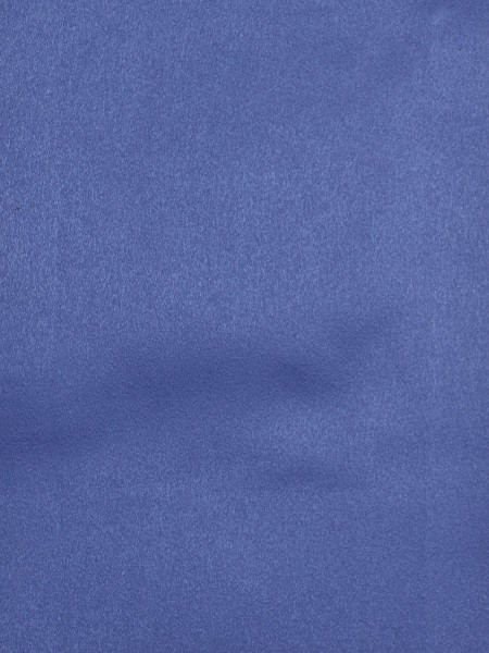 Swan Solid Pencil Pleat Valance and Versatile Pleat Curtains (Color: Brandeis Blue)