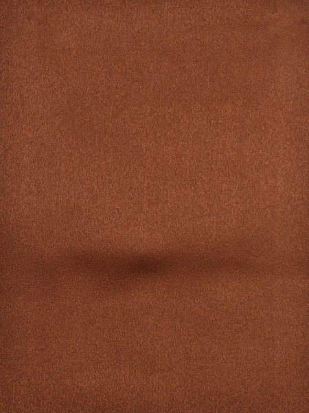 Swan Brown Solid Versatile Pleat Ready Made Curtains (Color: Ruby Red)