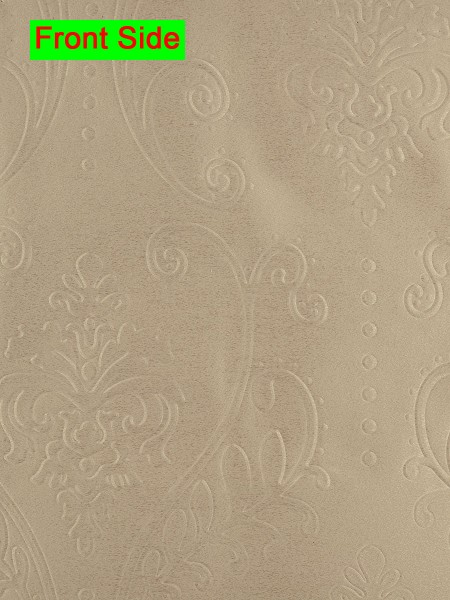 swan embossed floral damask flat splicing valance and curtains