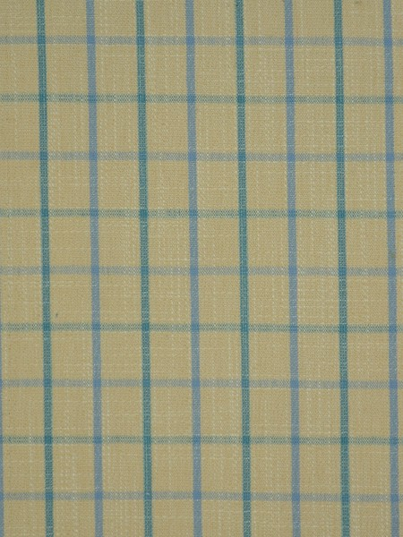 Extra Wide Hudson Small Plaid Back Tab Curtains 100 Inch - 120 Inch Curtains (Color: Capri)