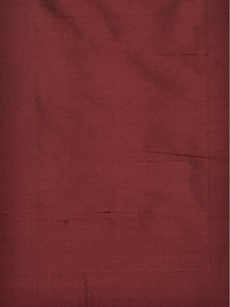 Oasis Solid-color Grommet Dupioni Silk Curtains (Color: Rosewood)