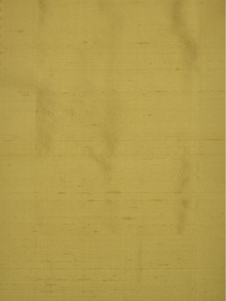 Oasis Solid Yellow Dupioni Silk Fabric Sample (Color: Wheat)