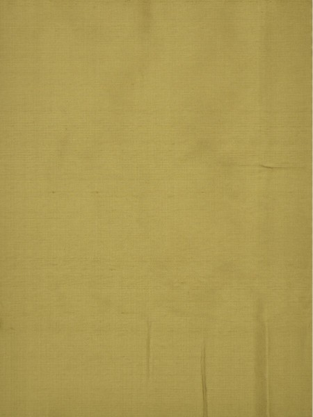Oasis Solid Yellow Dupioni Silk Fabric Sample (Color: Earth yellow)