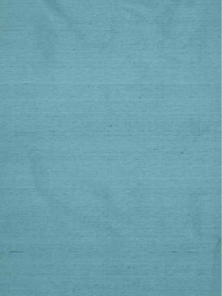 Oasis Solid Blue Dupioni Silk Fabric Sample (Color: Blue gray)