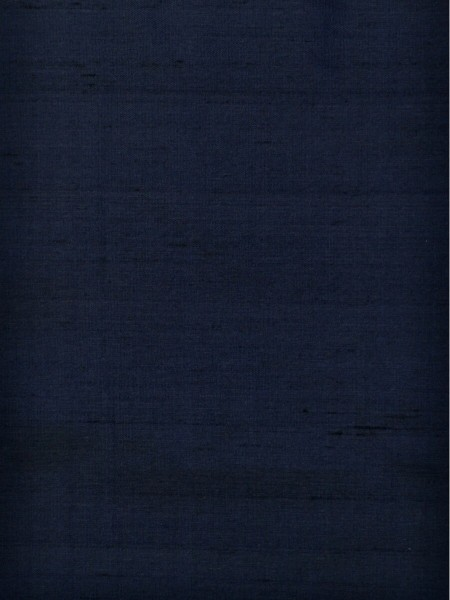 Oasis Solid Blue Dupioni Silk Fabric Sample (Color: Oxford blue) (Out of Stock)