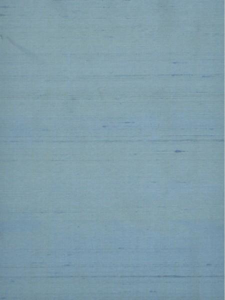 Oasis Solid Blue Dupioni Silk Fabric Sample (Color: Teal blue)