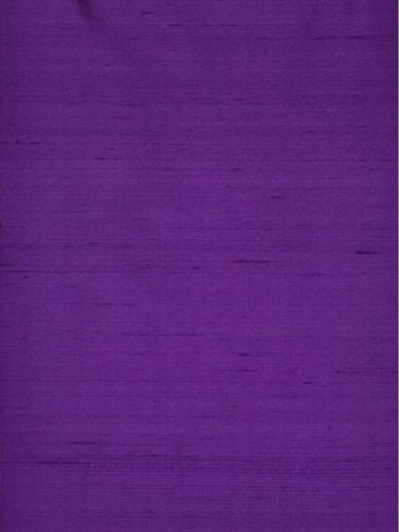 Oasis Solid Purple Dupioni Silk Fabric Sample (Color: Purple)