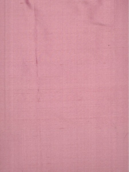 Oasis Solid Pink Dupioni Silk Fabric Sample (Color: Amaranth pink)