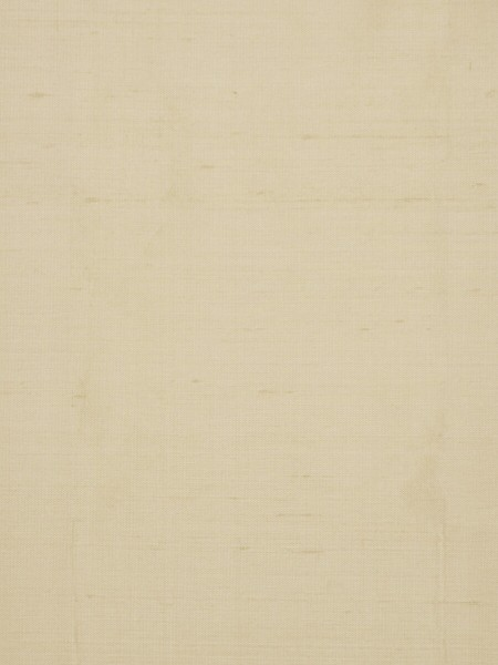 Oasis Solid Natural Dupioni Silk Fabric Sample (Color: Tan)