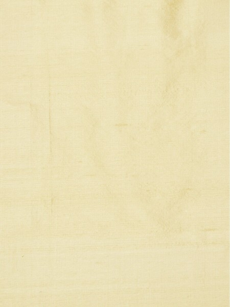 Oasis Solid Natural Dupioni Silk Fabric Sample (Color: Beige)