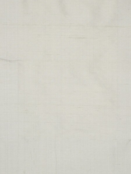 Oasis Solid Natural Dupioni Silk Fabric Sample (Color: Silver)