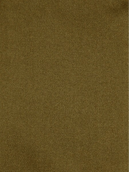 Waterfall Solid Brown Faux Silk Fabric Sample (Color: Field drab)
