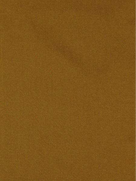 Waterfall Solid Brown Faux Silk Fabric Sample (Color: Fulvous)