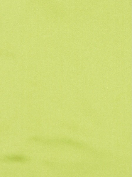 Waterfall Solid Elegant Faux Silk Custom Made Curtains (Color: Electric lime)