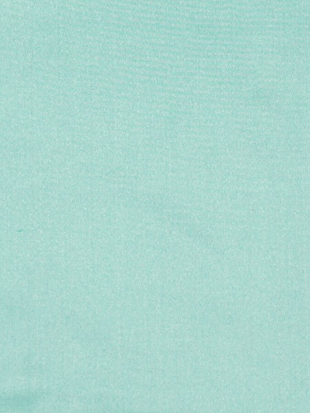 Waterfall Solid Blue Triple Pinch Pleat Faux Silk Curtains (Color: Magic mint)