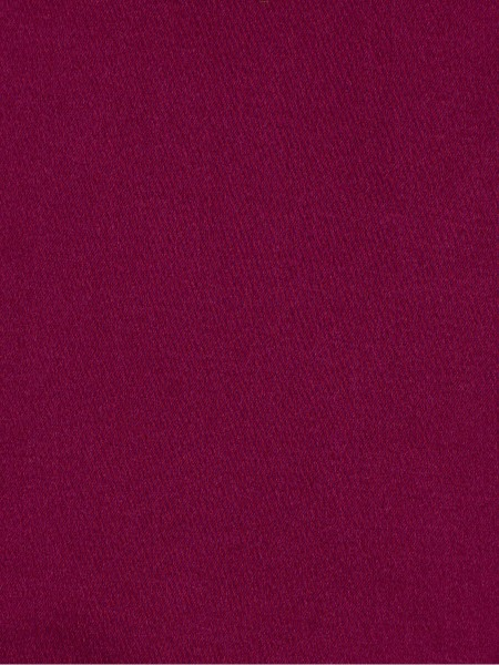 Waterfall Solid Red Faux Silk Custom Made Curtains (Color: Red violet)