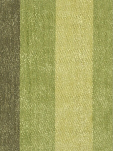 Petrel Vertical Stripe Chenille Fabric Sample (Color: Army green)