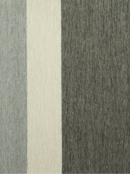 Petrel Vertical Stripe Chenille Fabric Sample (Color: Cadet)